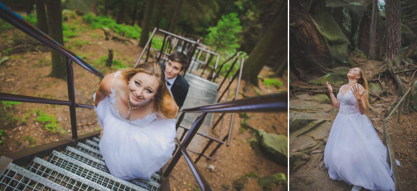 plener ślubny w skalnym miescie w czechach fotografie Bartek Wyrobek  2.jpg