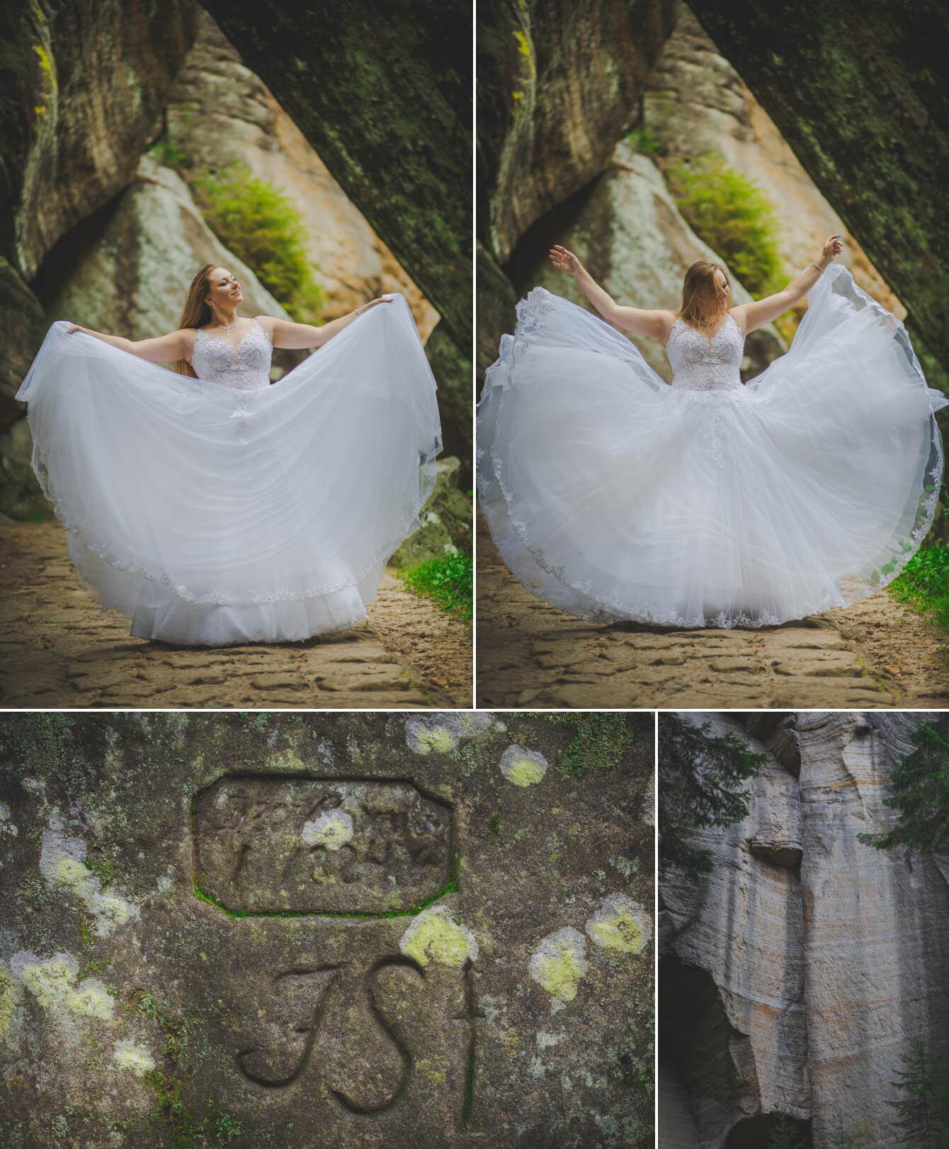 plener ślubny w skalnym miescie w czechach fotografie Bartek Wyrobek  6.jpg