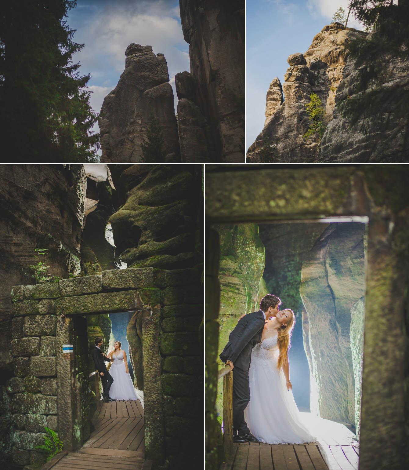plener ślubny w skalnym miescie w czechach fotografie Bartek Wyrobek  9.jpg