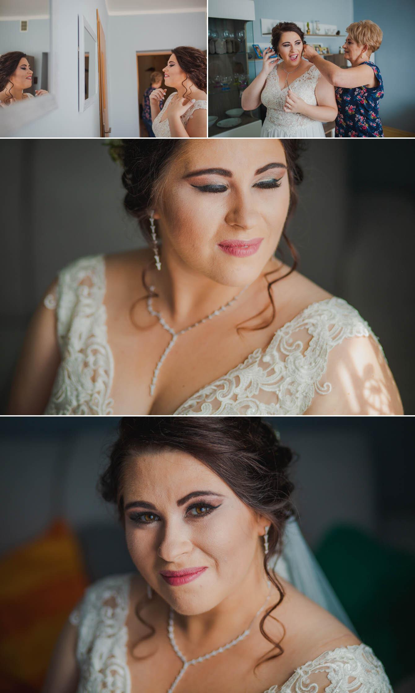 Fotografie ślubne Marka i Angeliki w domu weselnym pod Grzybkiem fotograf Bartek Wyrobek  2.jpg