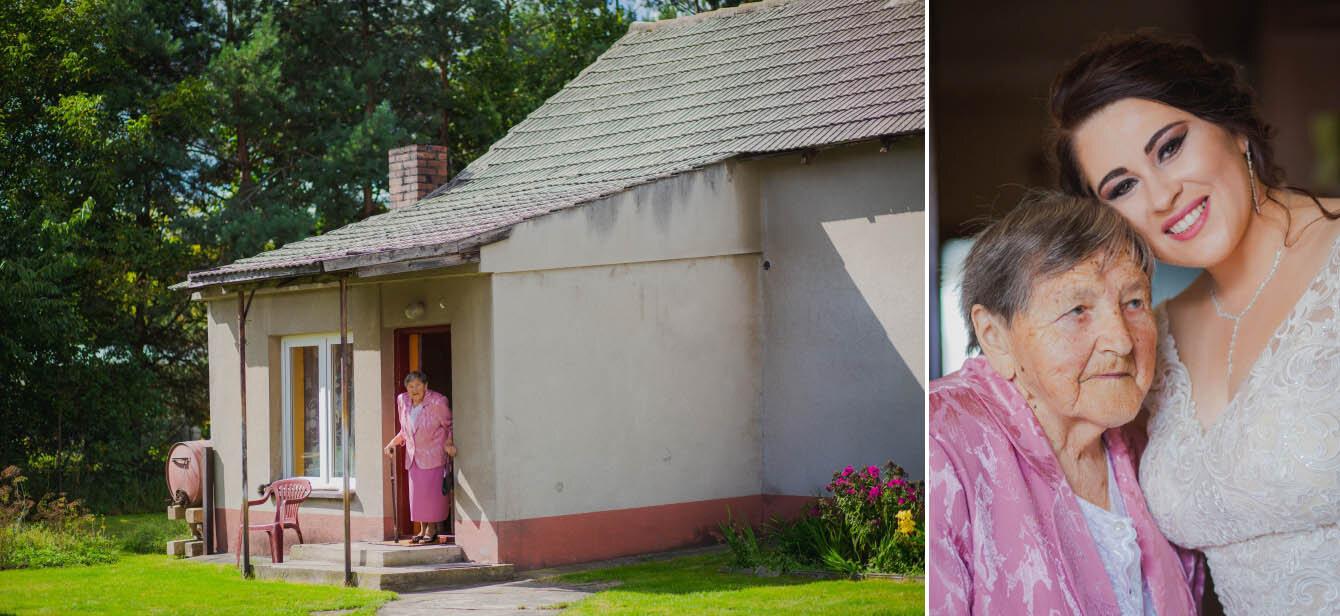 Fotografie ślubne Marka i Angeliki w domu weselnym pod Grzybkiem fotograf Bartek Wyrobek  4.jpg