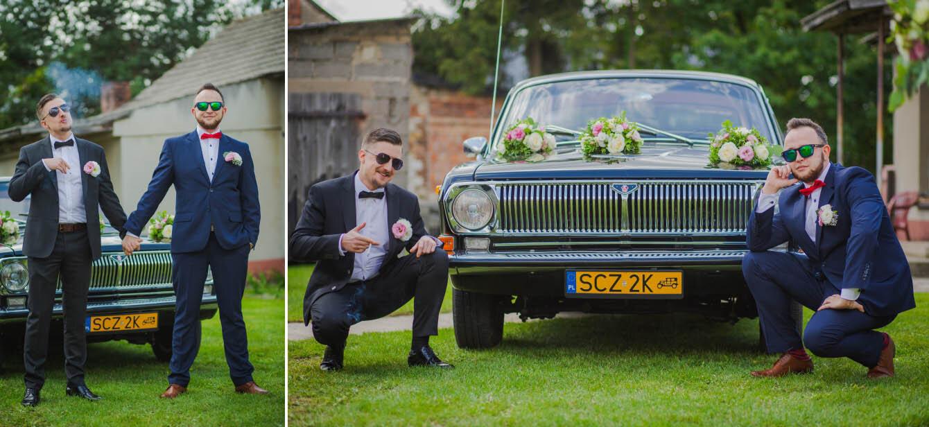 Fotografie ślubne Marka i Angeliki w domu weselnym pod Grzybkiem fotograf Bartek Wyrobek  11.jpg