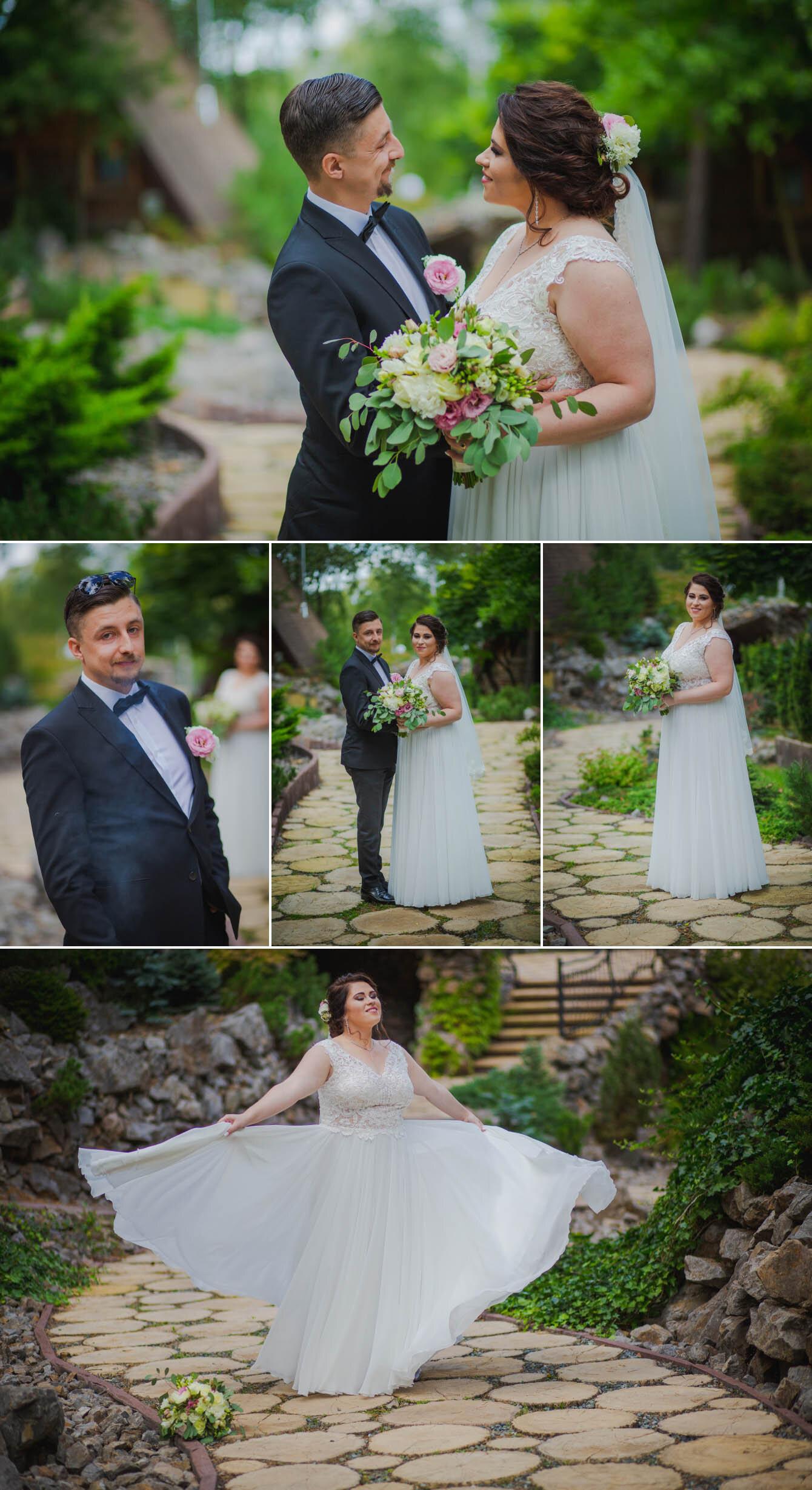 Fotografie ślubne Marka i Angeliki w domu weselnym pod Grzybkiem fotograf Bartek Wyrobek  14.jpg