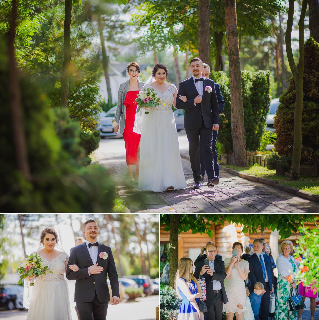 Fotografie ślubne Marka i Angeliki w domu weselnym pod Grzybkiem fotograf Bartek Wyrobek  16.jpg