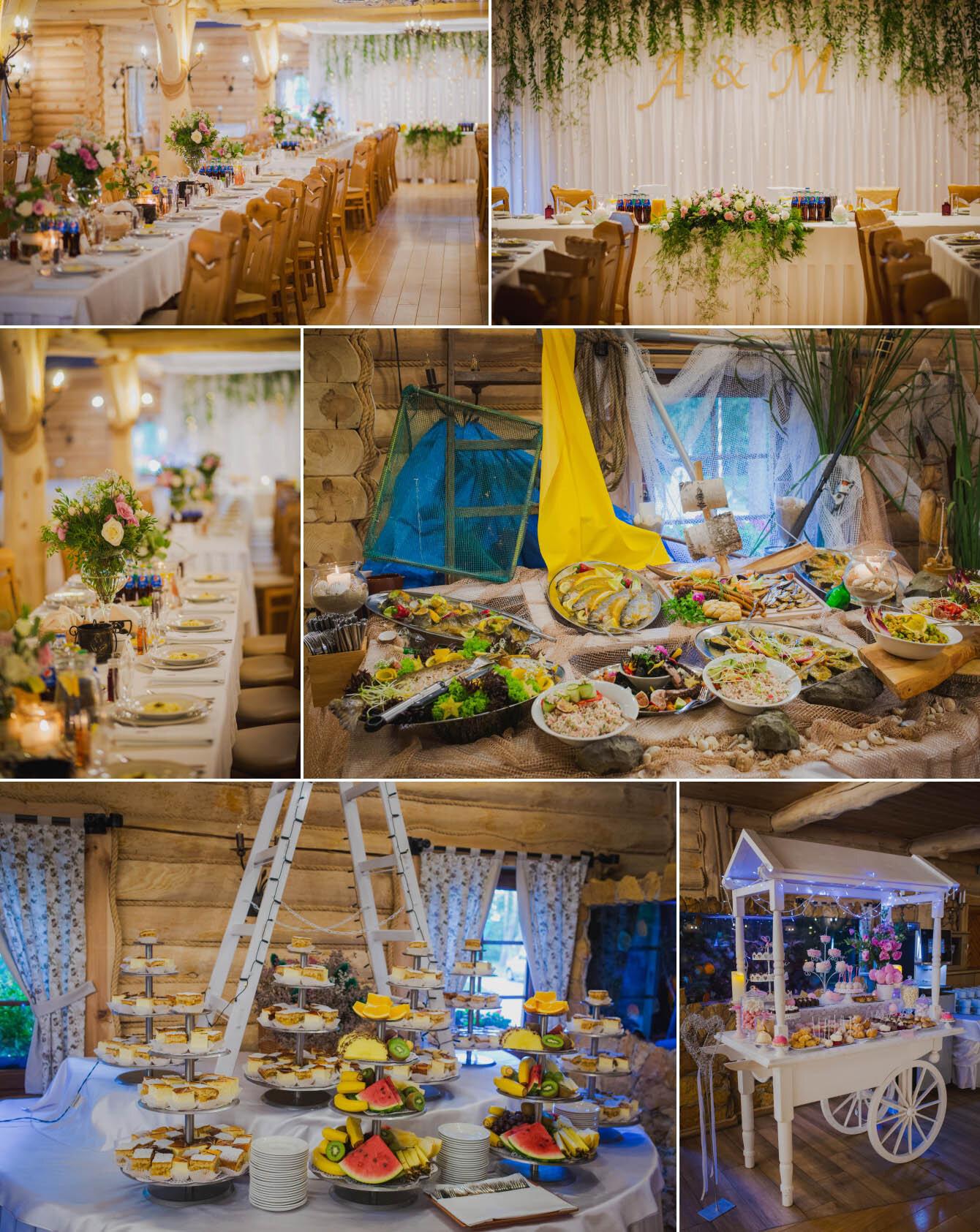 Fotografie ślubne Marka i Angeliki w domu weselnym pod Grzybkiem fotograf Bartek Wyrobek  20.jpg