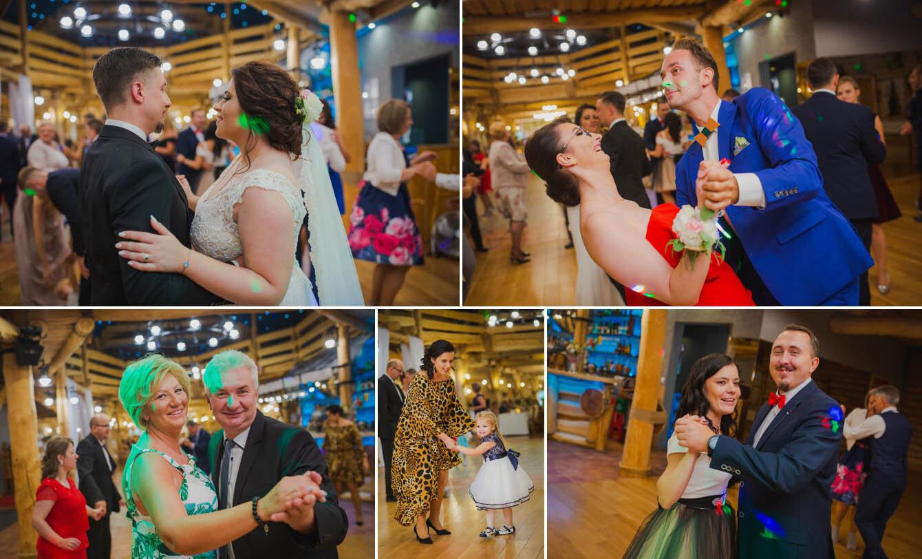 Fotografie ślubne Marka i Angeliki w domu weselnym pod Grzybkiem fotograf Bartek Wyrobek  25.jpg