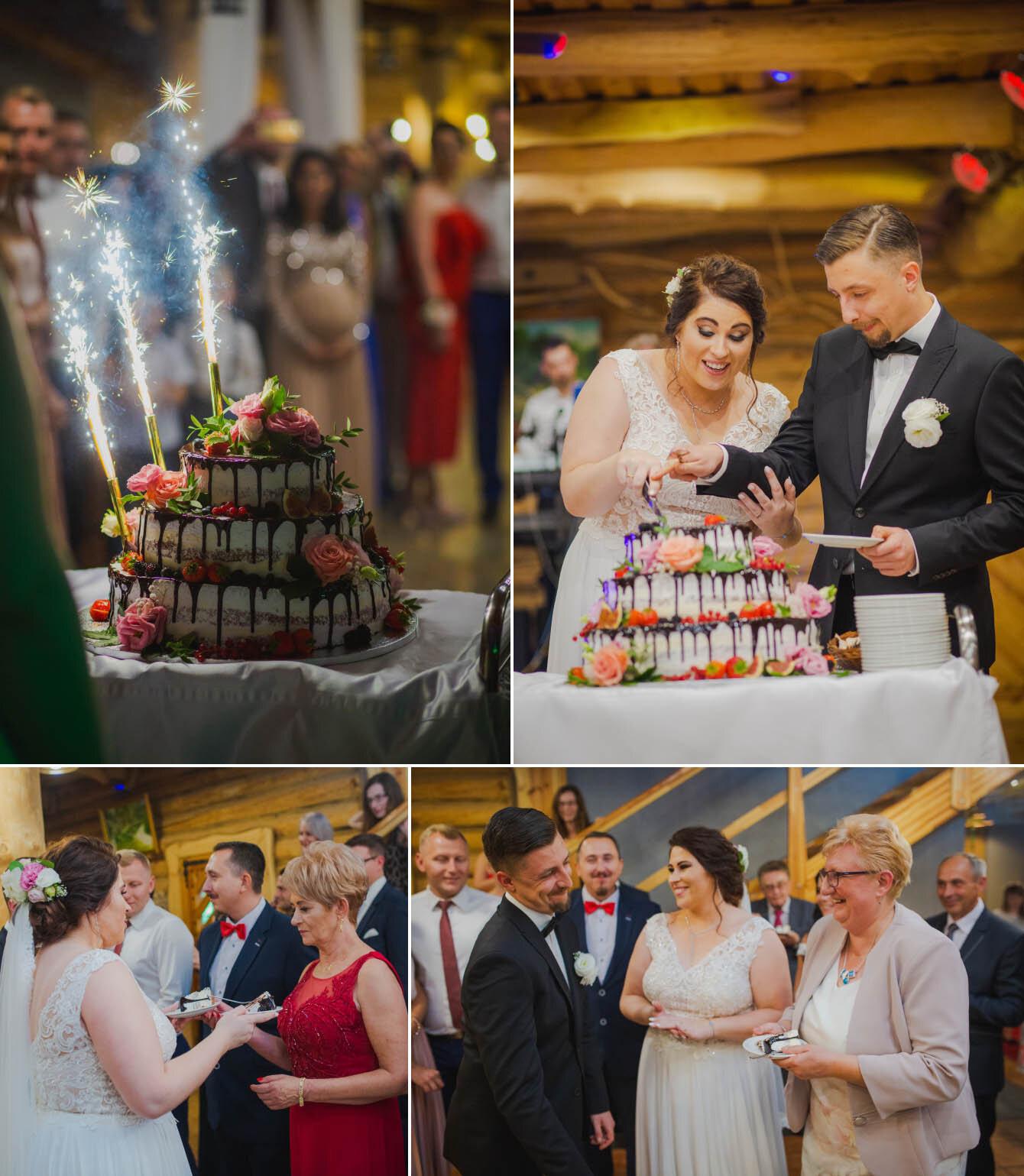 Fotografie ślubne Marka i Angeliki w domu weselnym pod Grzybkiem fotograf Bartek Wyrobek  26.jpg
