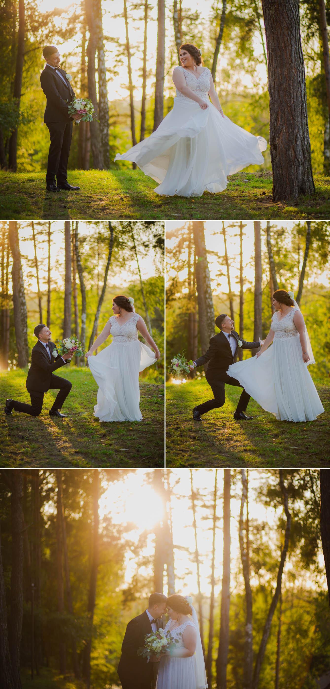 Fotografie ślubne Marka i Angeliki w domu weselnym pod Grzybkiem fotograf Bartek Wyrobek  29.jpg
