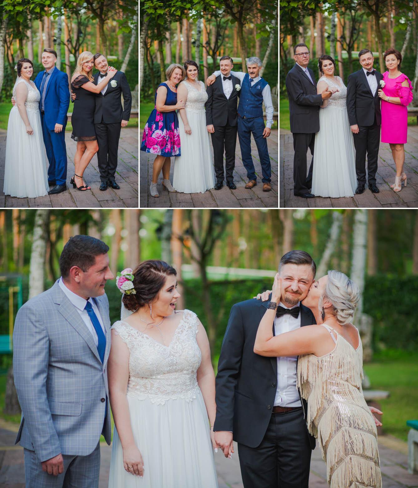 Fotografie ślubne Marka i Angeliki w domu weselnym pod Grzybkiem fotograf Bartek Wyrobek  31.jpg