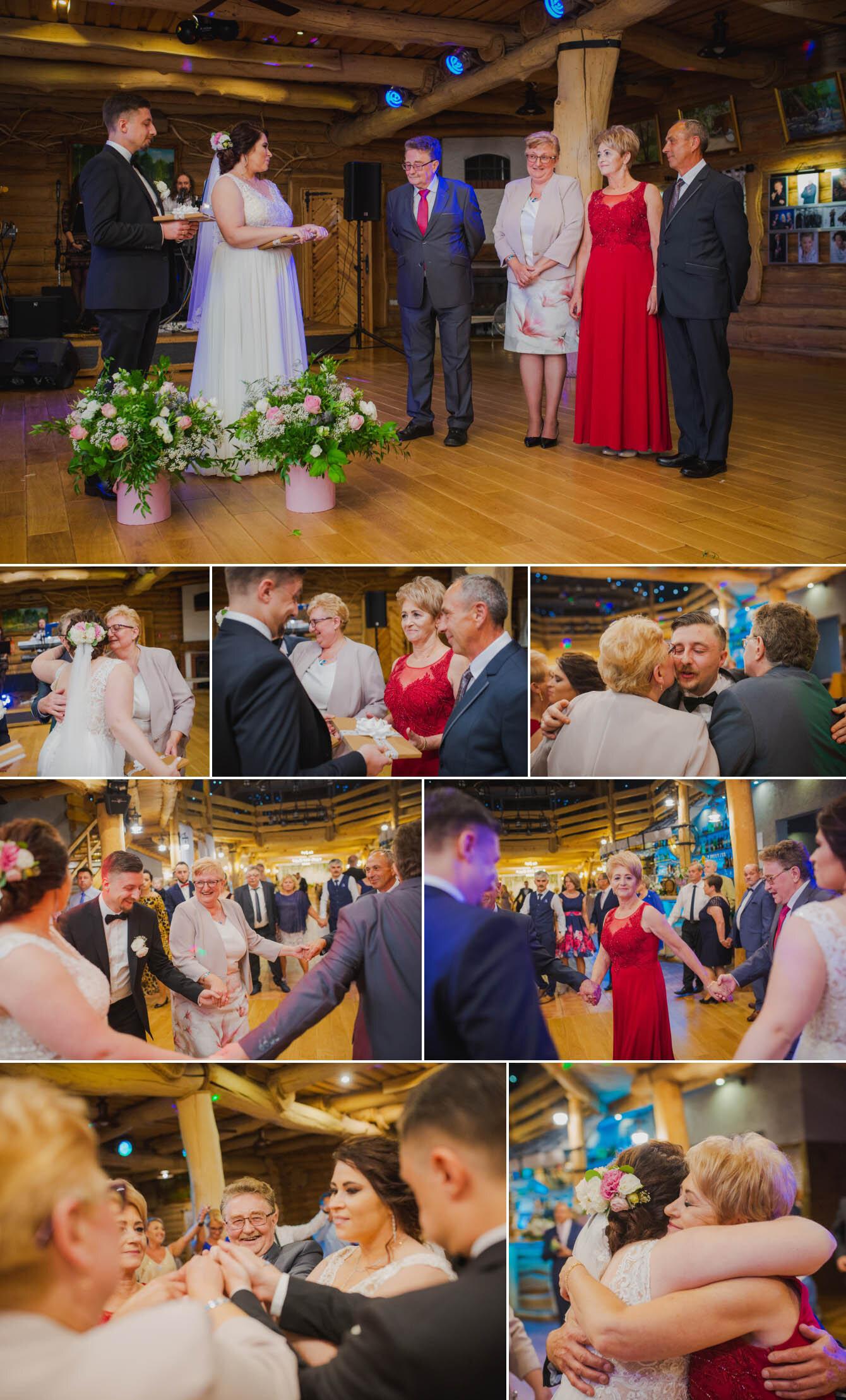 Fotografie ślubne Marka i Angeliki w domu weselnym pod Grzybkiem fotograf Bartek Wyrobek  33.jpg