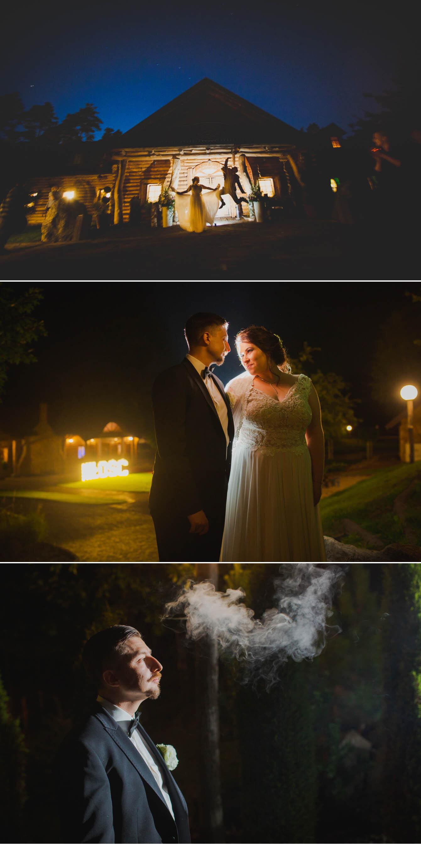Fotografie ślubne Marka i Angeliki w domu weselnym pod Grzybkiem fotograf Bartek Wyrobek  35.jpg