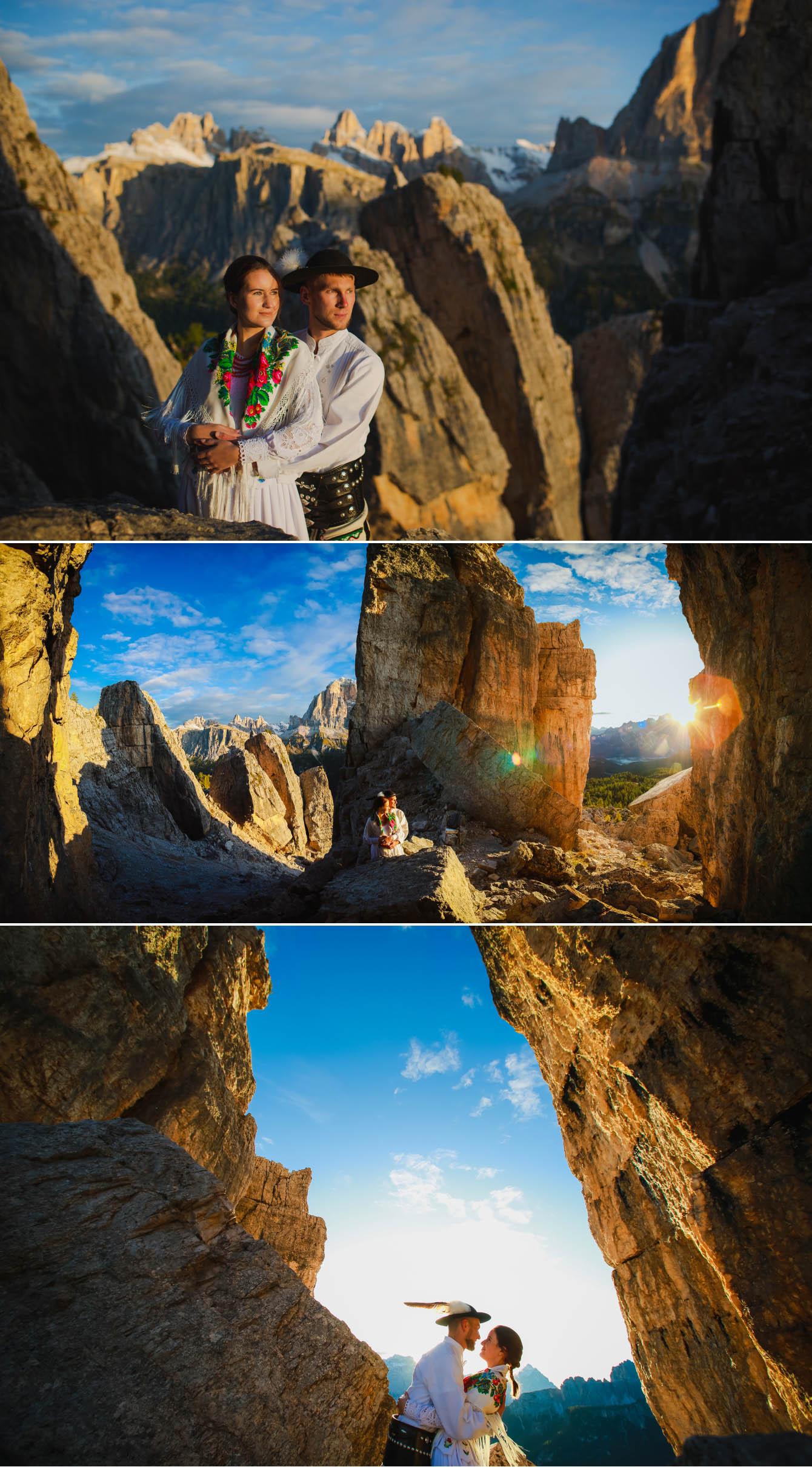 Zdjęcia ślubne Dolomity Cortina d'Ampezzo Łukasz i Kinga fotografie Bartek Wyrobek  1.jpg