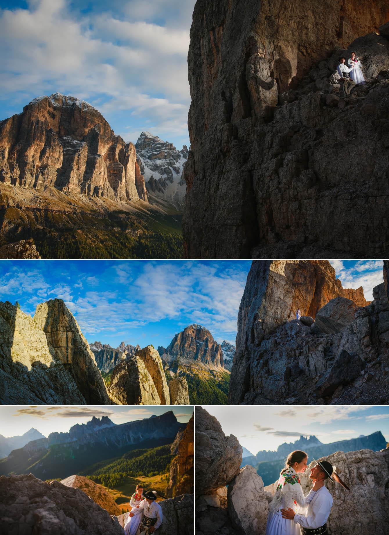 Zdjęcia ślubne Dolomity Cortina d'Ampezzo Łukasz i Kinga fotografie Bartek Wyrobek  2.jpg