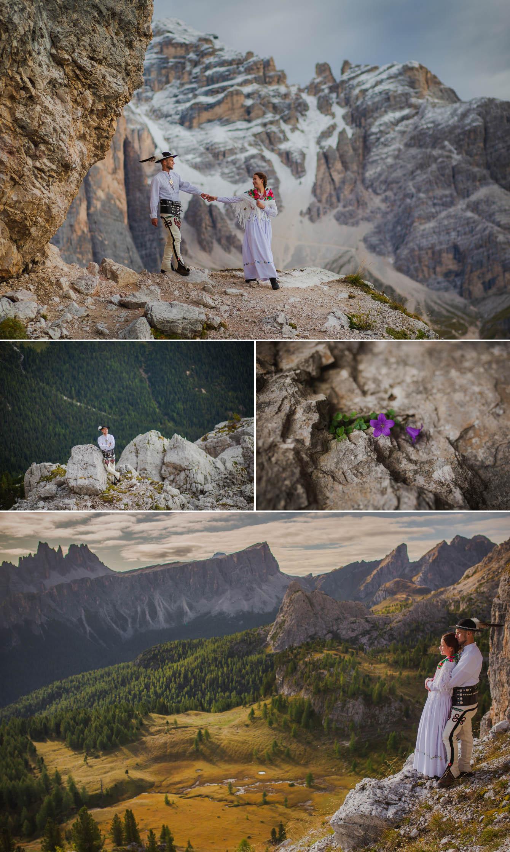 Zdjęcia ślubne Dolomity Cortina d'Ampezzo Łukasz i Kinga fotografie Bartek Wyrobek  3.jpg