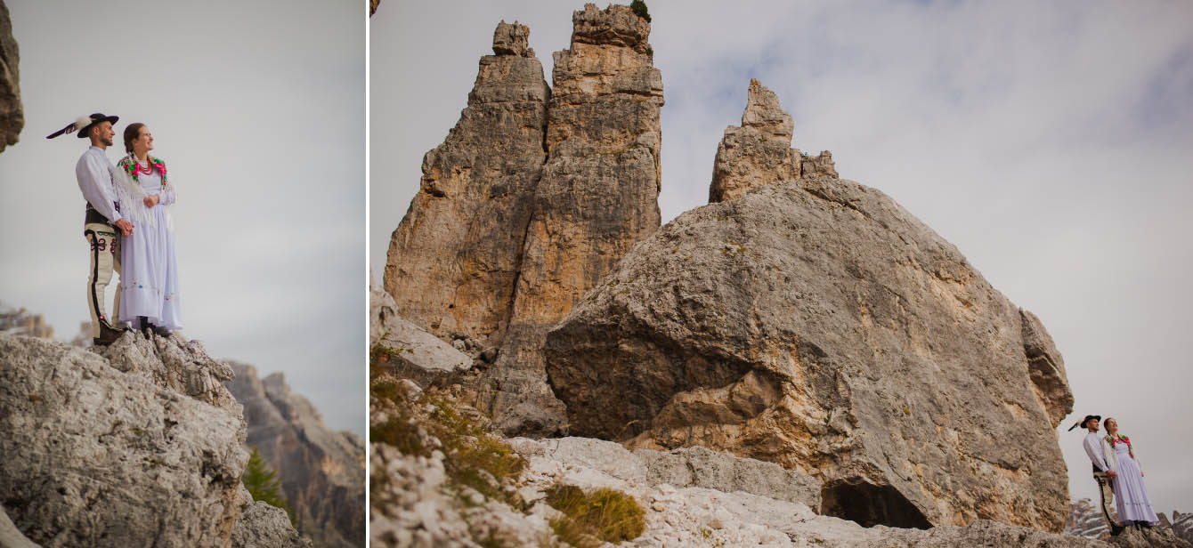 Zdjęcia ślubne Dolomity Cortina d'Ampezzo Łukasz i Kinga fotografie Bartek Wyrobek  4.jpg