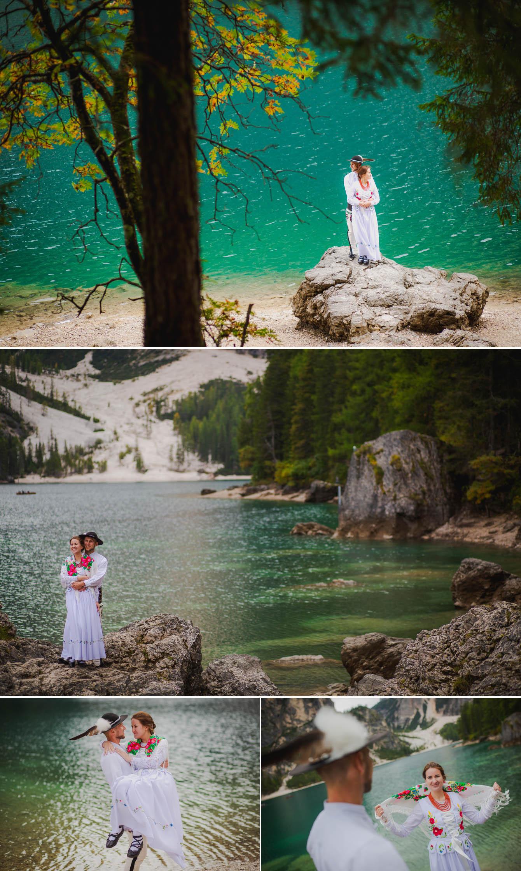 Zdjęcia ślubne Dolomity Cortina d'Ampezzo Łukasz i Kinga fotografie Bartek Wyrobek  5.jpg