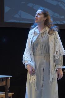Pictured: Mia Maggiacomo '19 as Mary Warren. Photo courtesy of Brian Bocanegra.