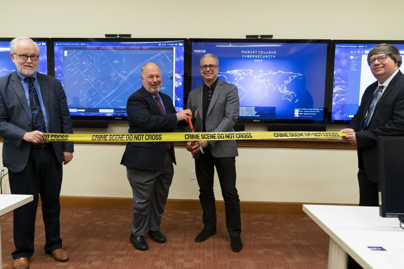 Cutting the ribbon to the Security Operations Center