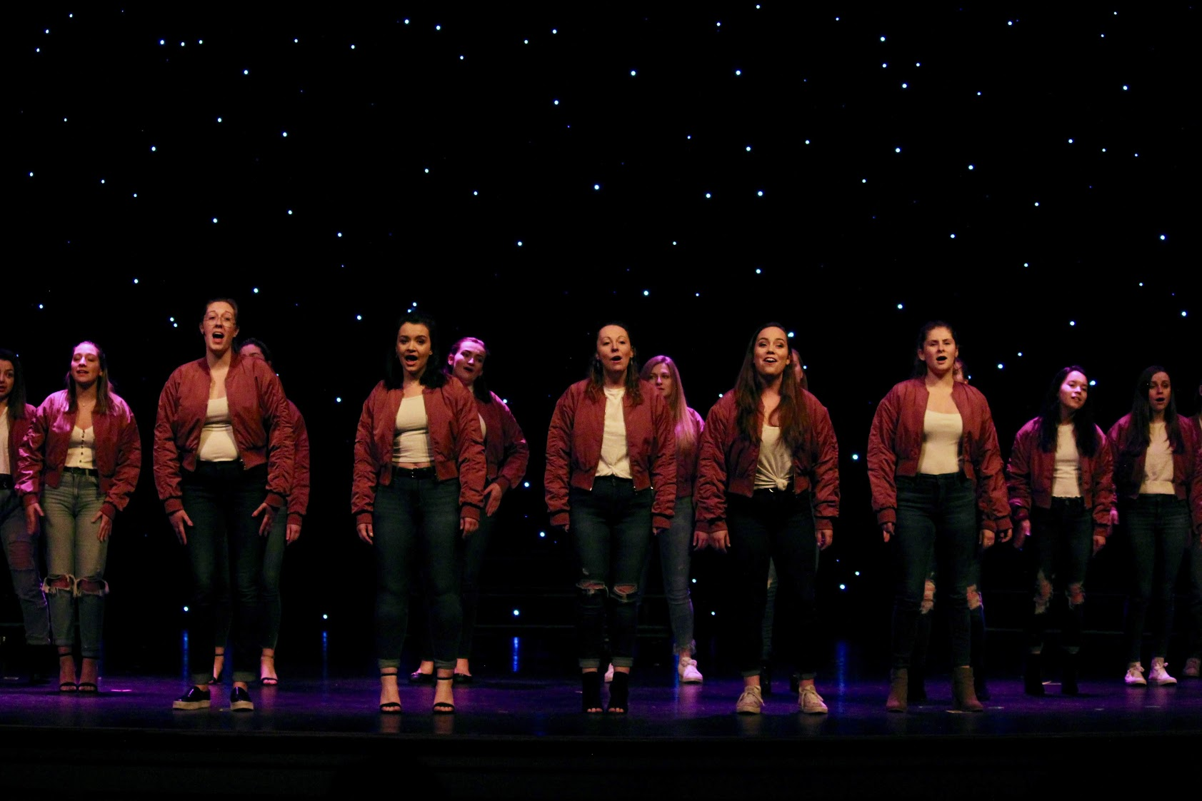 A cappella group The Lovely Sirens performing at this year's Love in the Afternoon benefit concert. Image courtesy of Emily Jones, '19