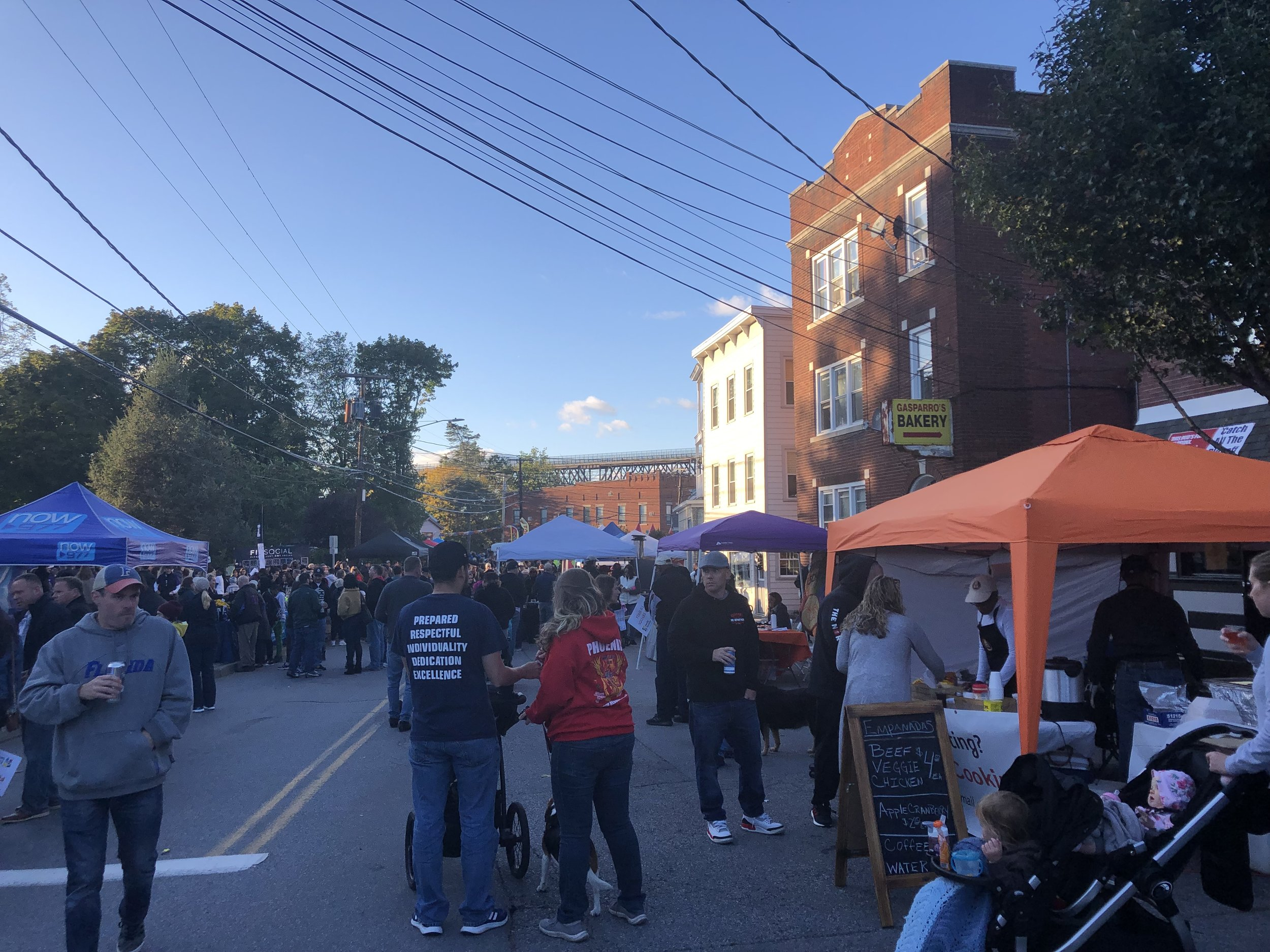 Market in Poughkeepsie.  Photo by Sarah Lynch