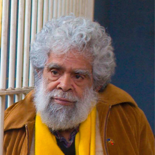 Jack Charles, Pentridge Prison. Indigenous actor of stage and screen. By Rupert Mann