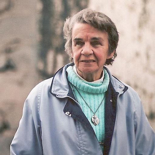 Sister Clare McShee. Pentridge. Beside B Division. By Rupert Mann.png