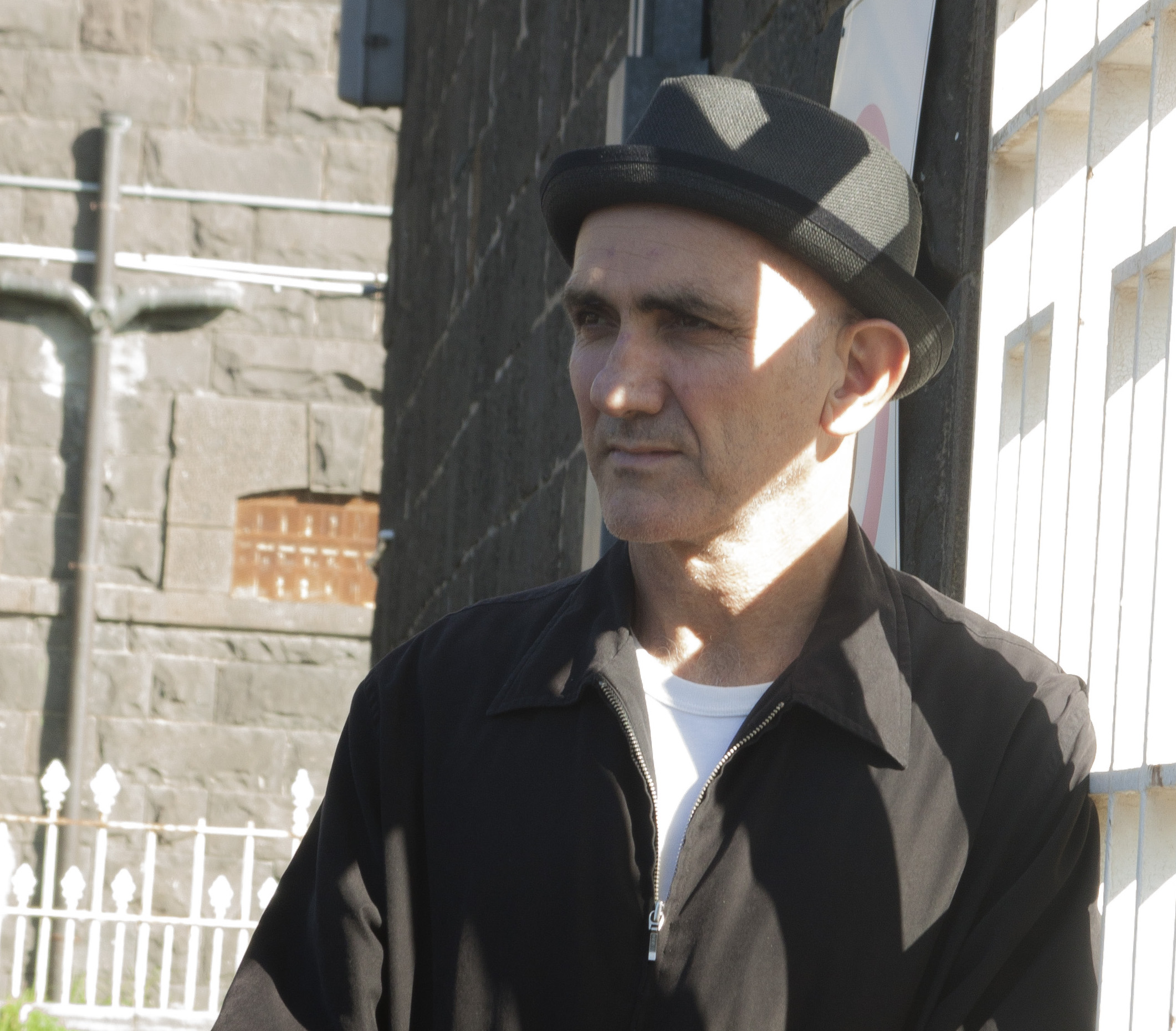 Paul Kelly. Pentridge Prison. Musician. By Rupert Mann