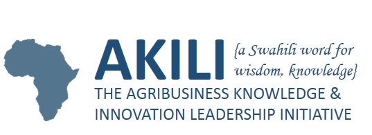 Non-profit research and training collaboration with faculty of the Massachusetts Institute of Technology (MIT), Harvard University, and the Corporate Council on Africa.  www.akili-initiative.org