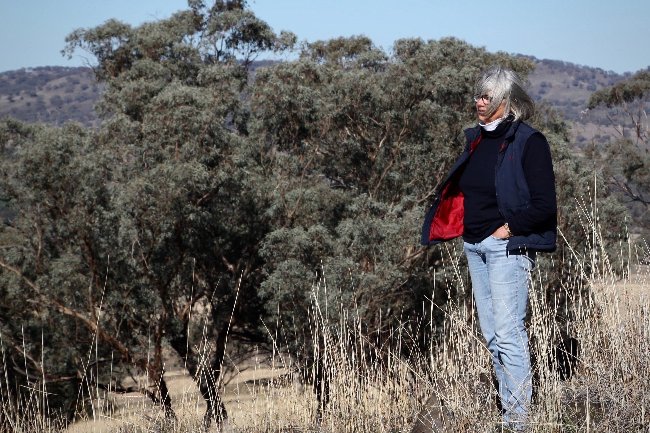 Rosemary Nankivellon the Liverpool Plains land that her family has farmed for generations.
