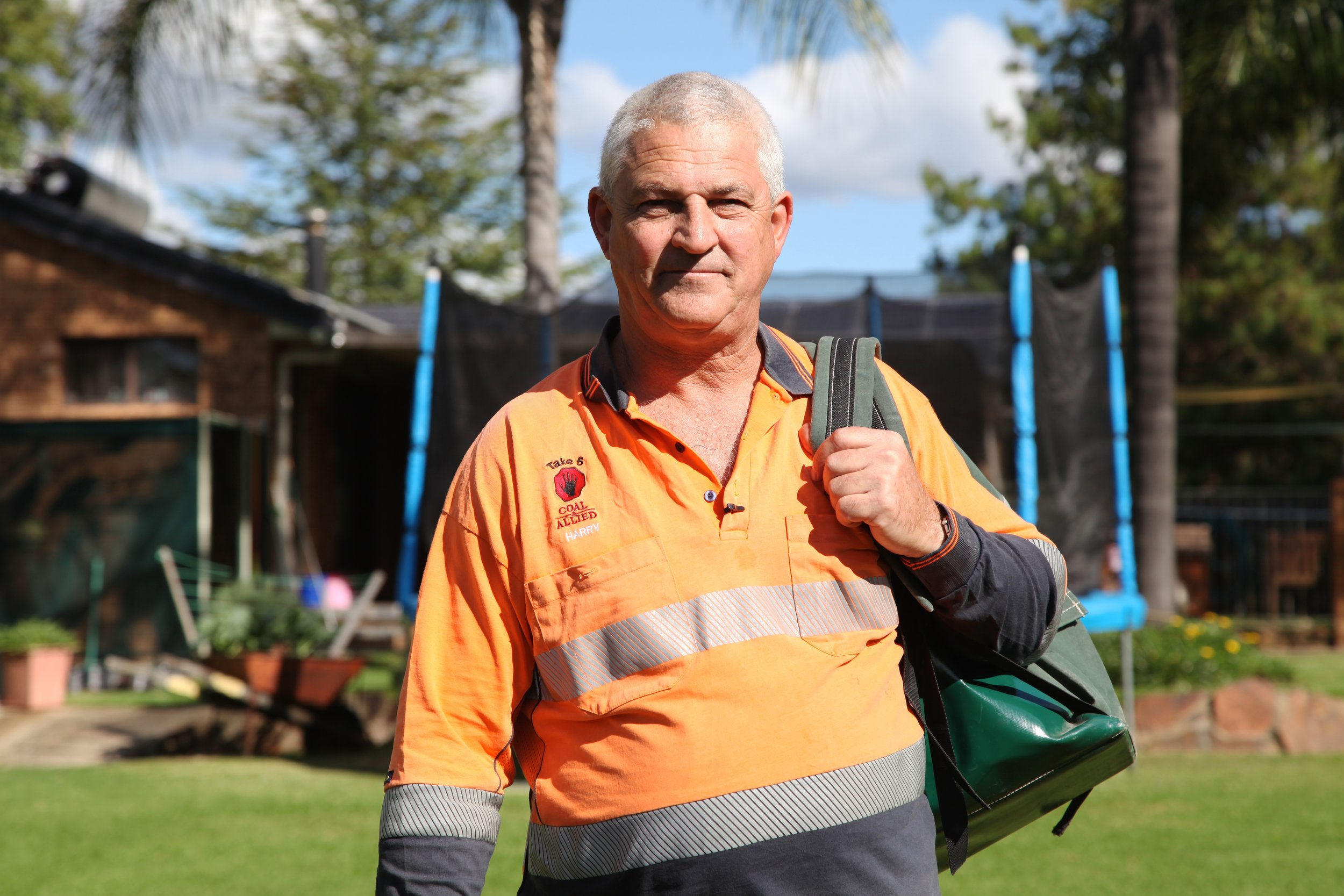 Paul Harris is another Bulga local who has spoken out against the proposed expansion of the mine. For Paul, it's a particularly pointed quandary.