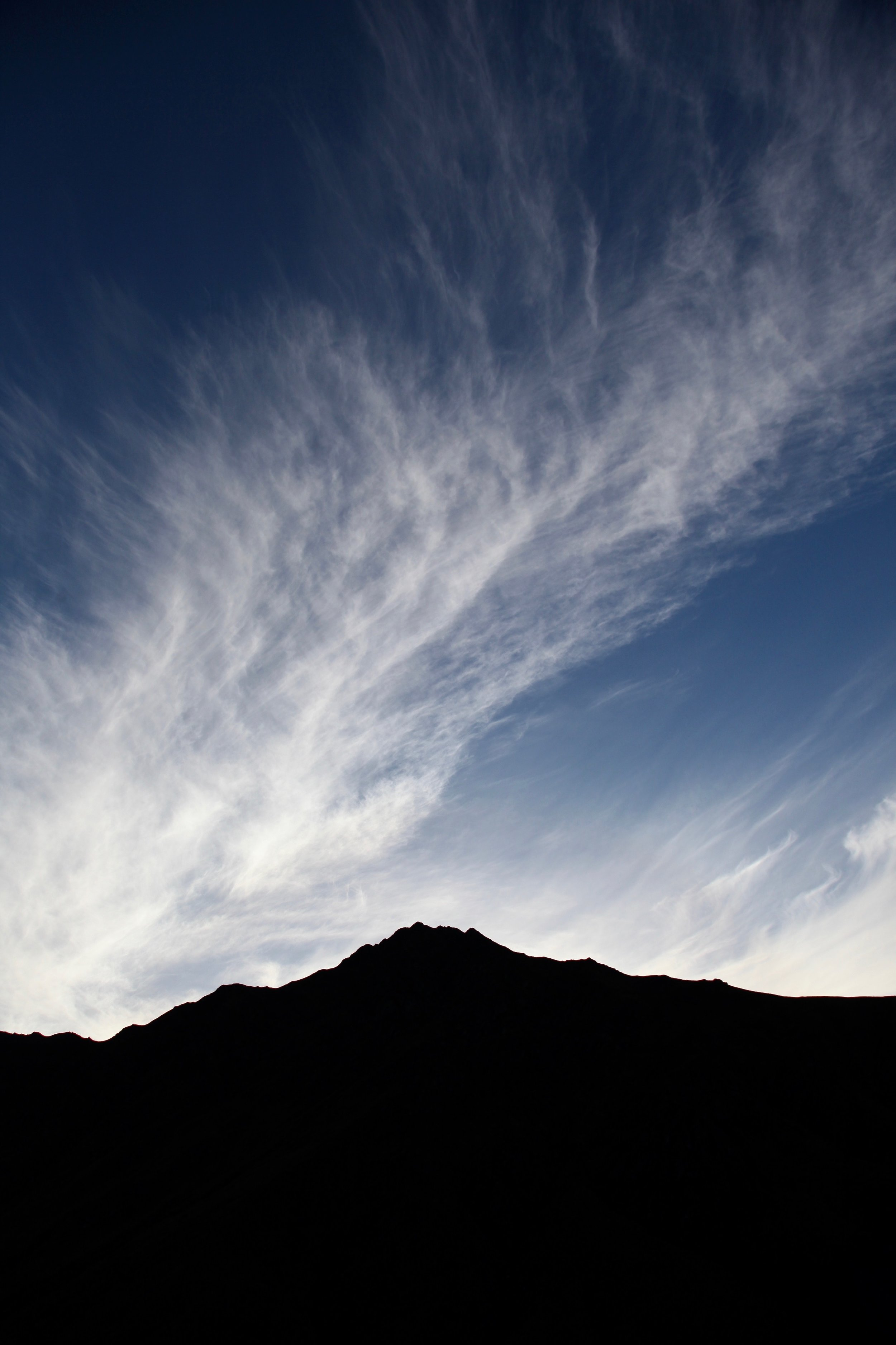 Last light and darkening skies, the Ben Lomond saddle walk takes you to 1326m and is about 4 hours return.