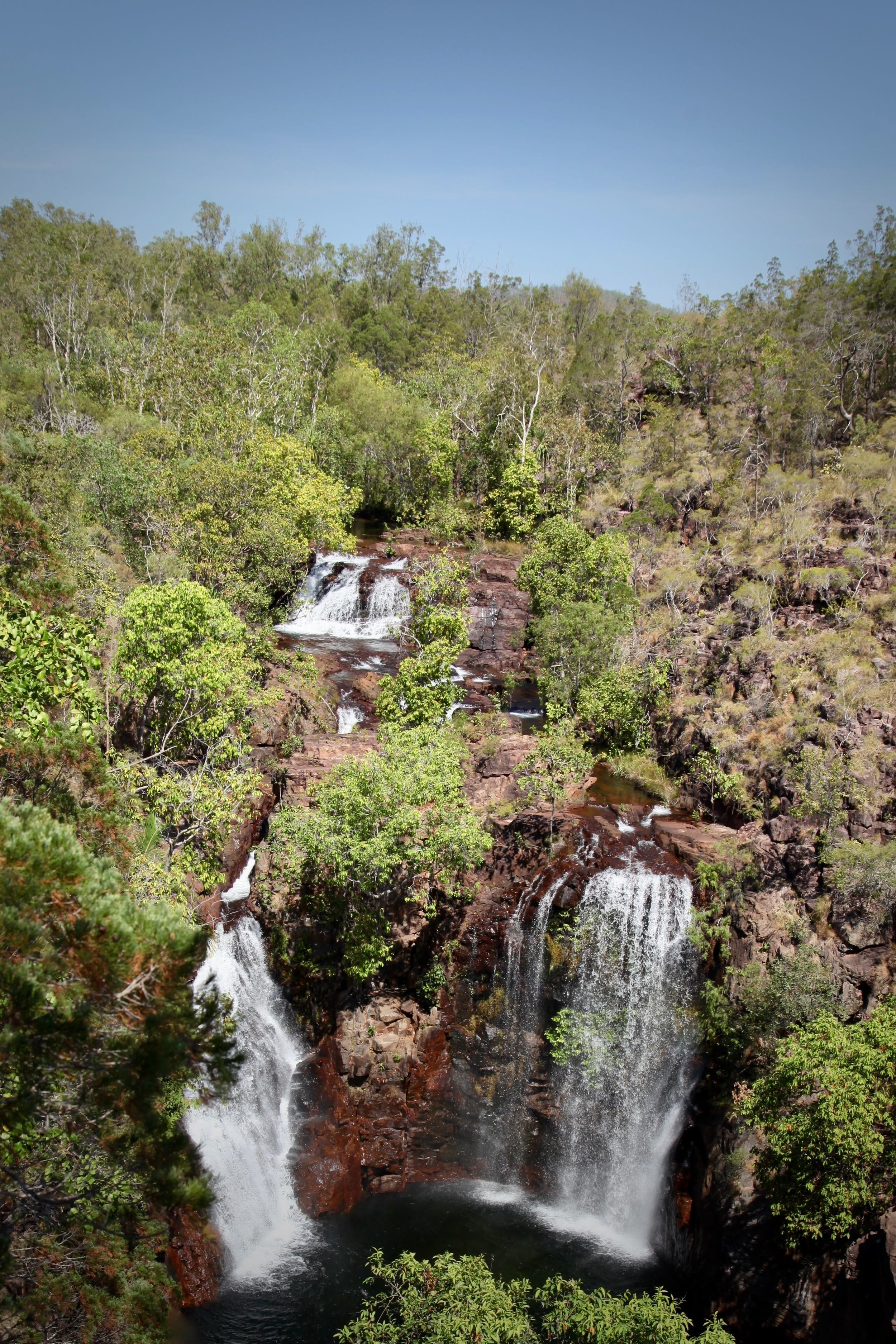 Florence Falls in Litchfield National Park, Northern Territory.