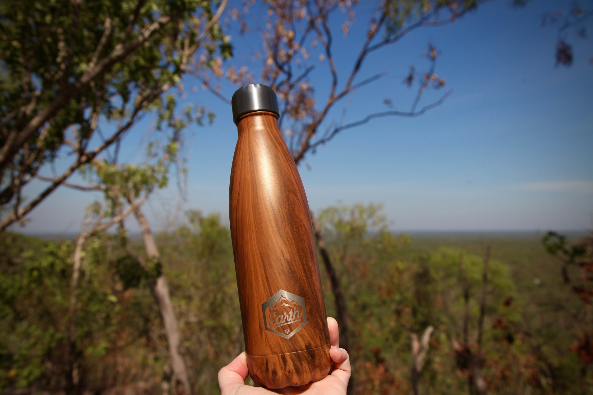 My  eco bottle  from The Seek Society got its first outing in Litchfield National Park. And boy was I stoked to have cold water after the sweaty hike up to the plateau above the Wangi Falls plunge pool.