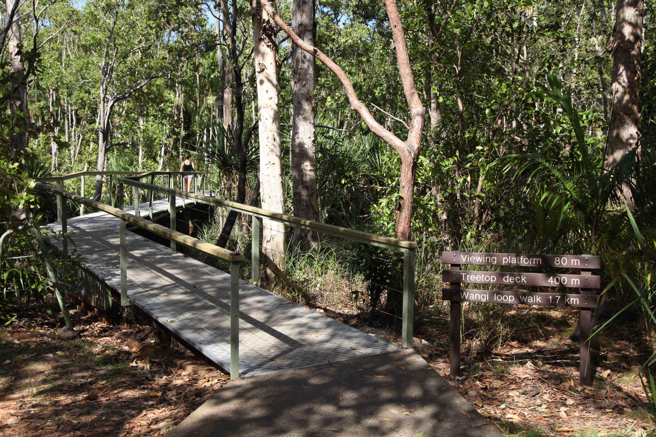 Wangi loop walk is a 1.7km walk in Litchfield National Park.