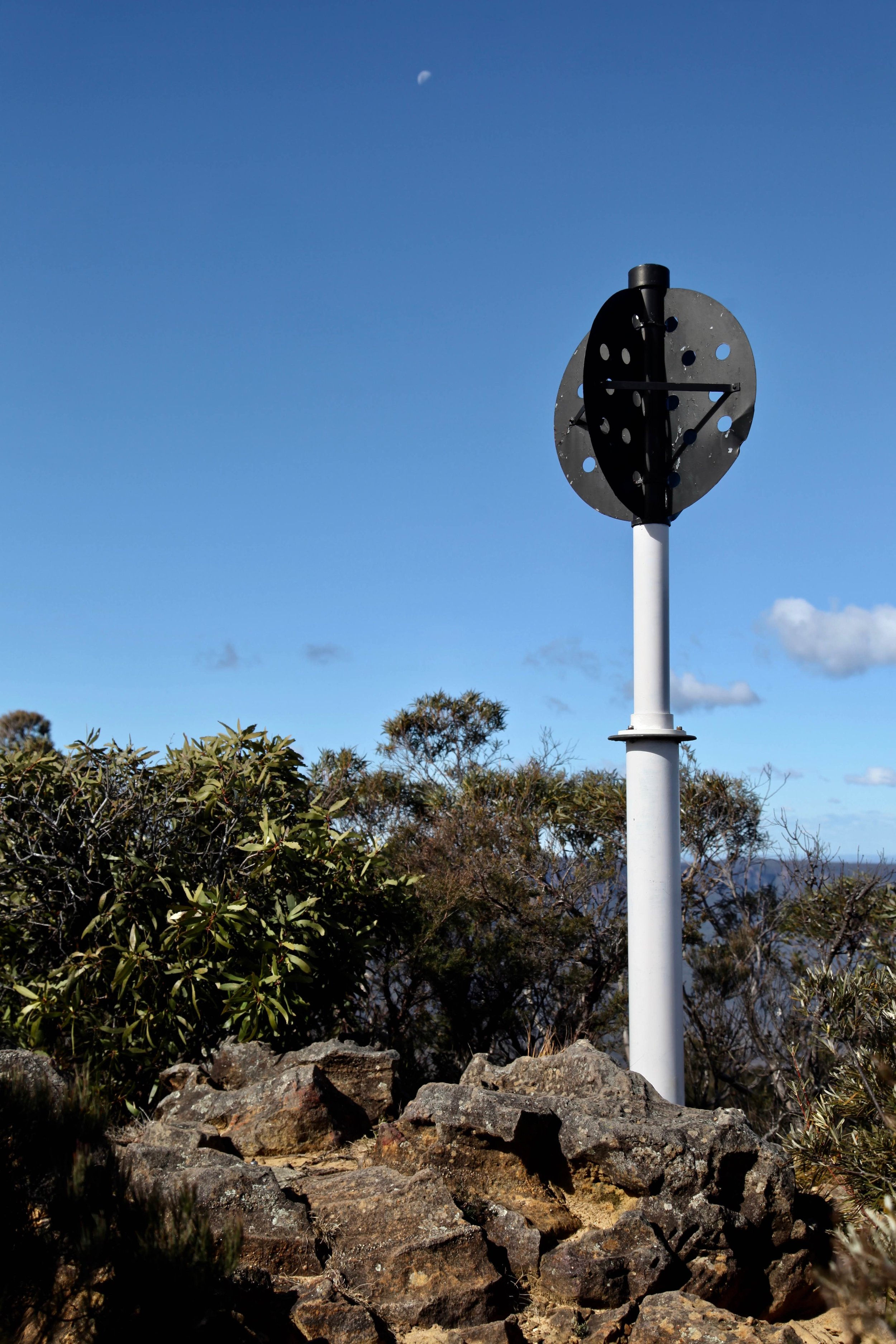 Castle Cliff trig station on the Castle Head track.