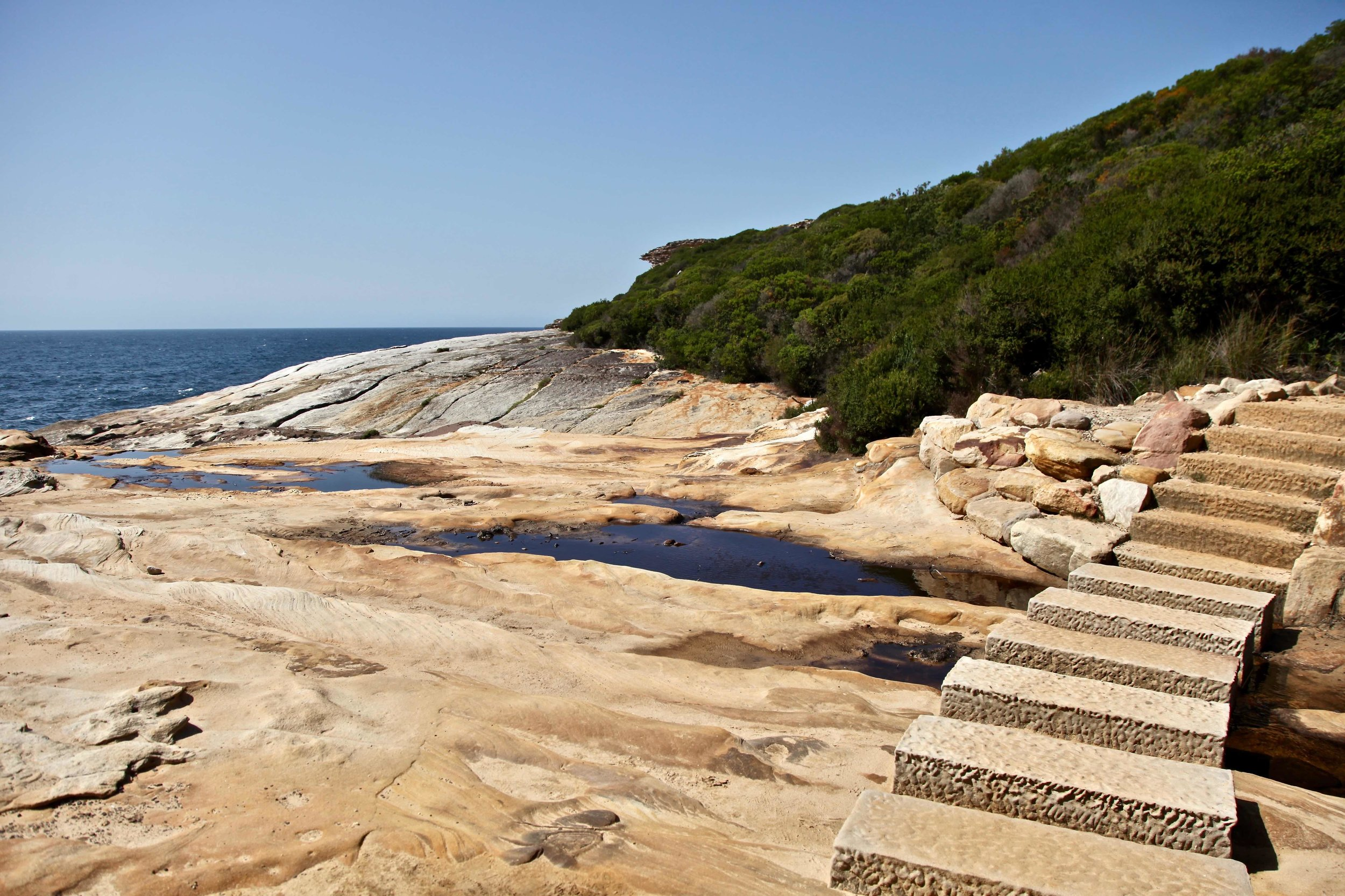 The Coast Track from Bundeena to Otford.