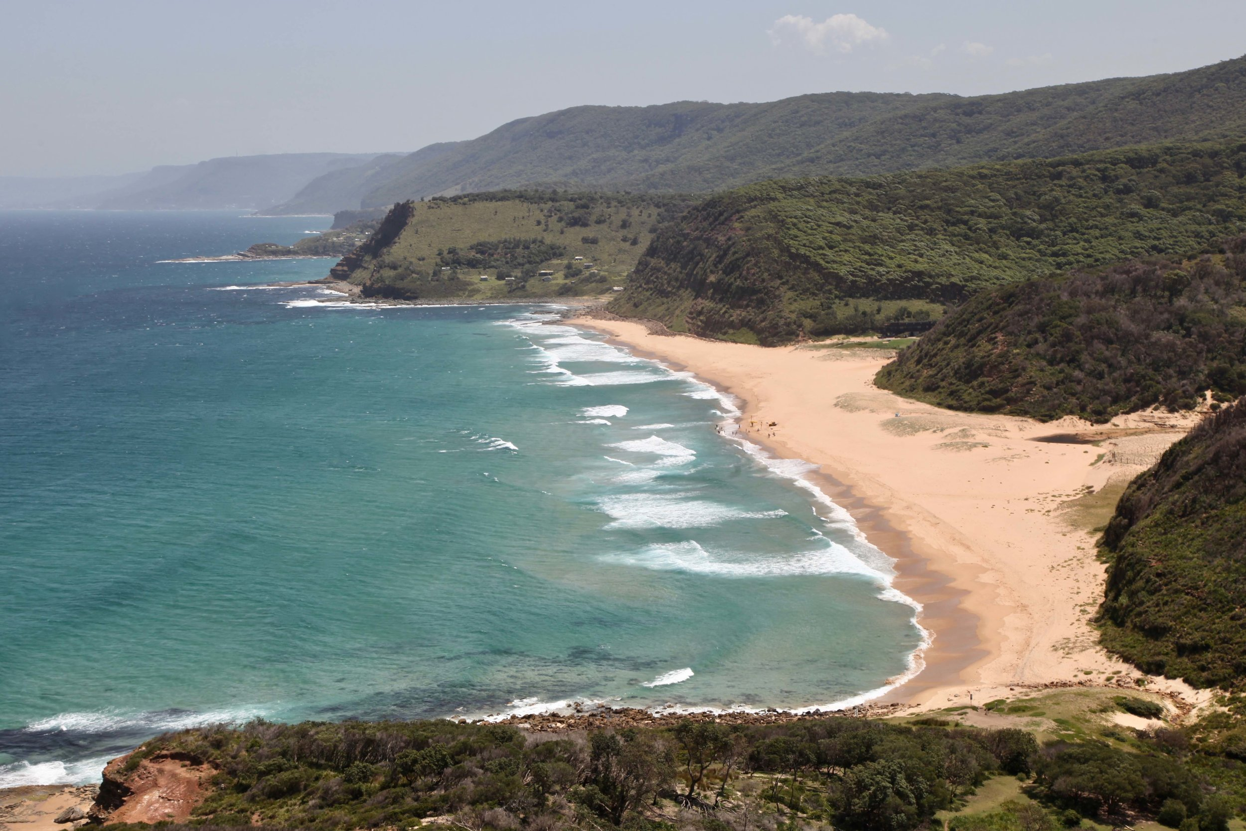 Garie Beach in Royal National Park.