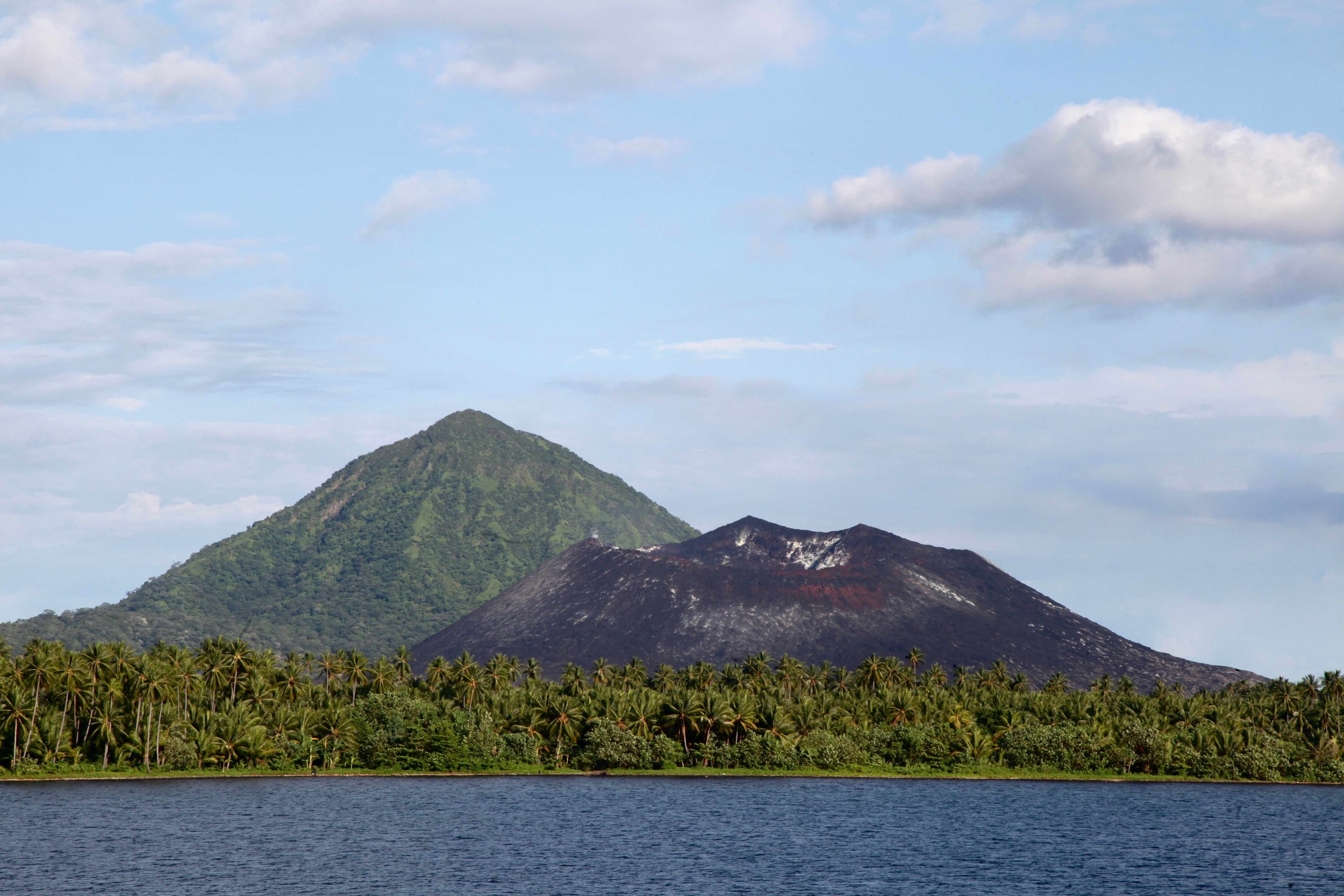 Volcano in Rabaul, Papua New Guinea.
