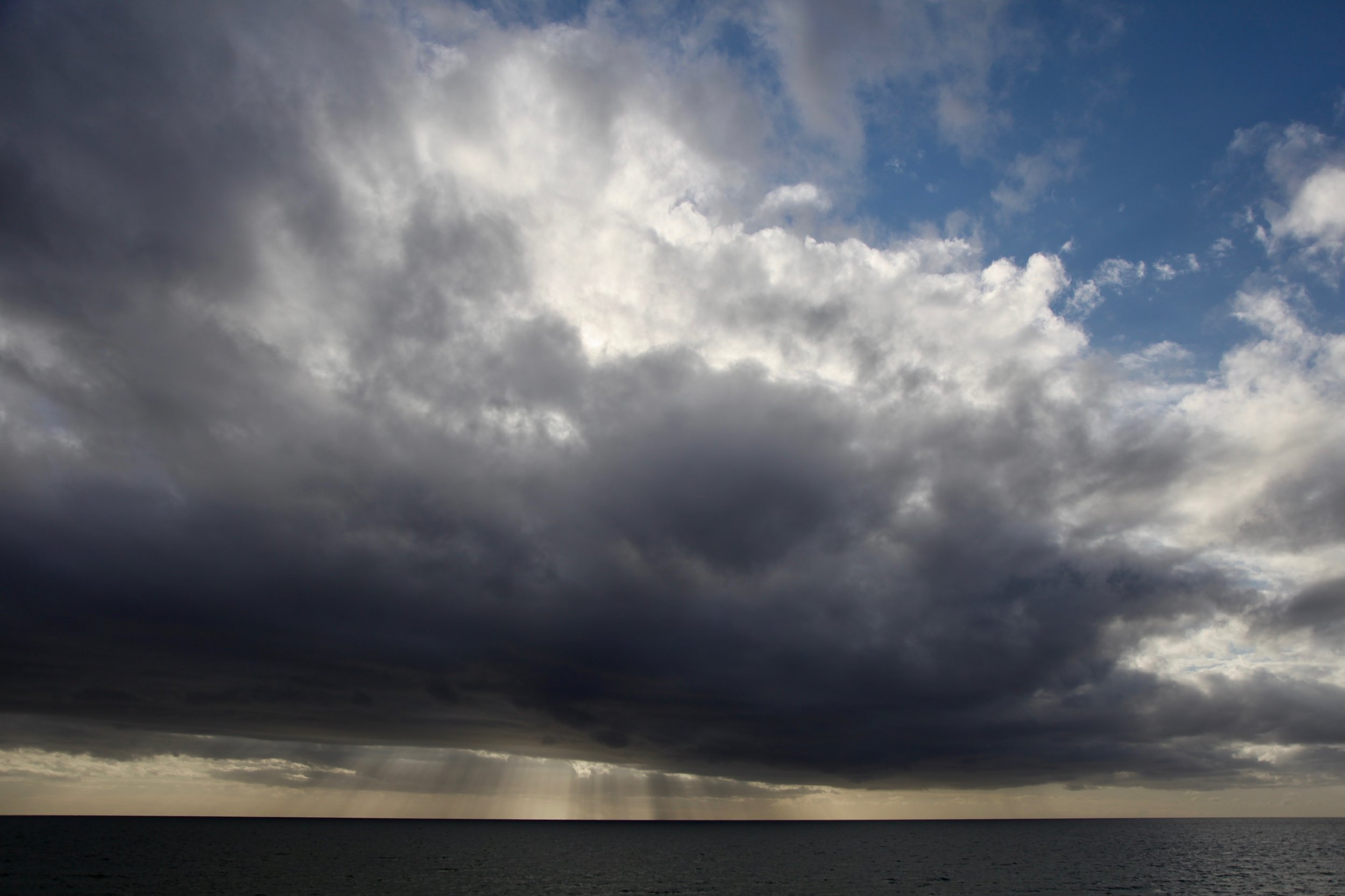 Storm rolling in over Henley Beach near Adelaide in South Australia.