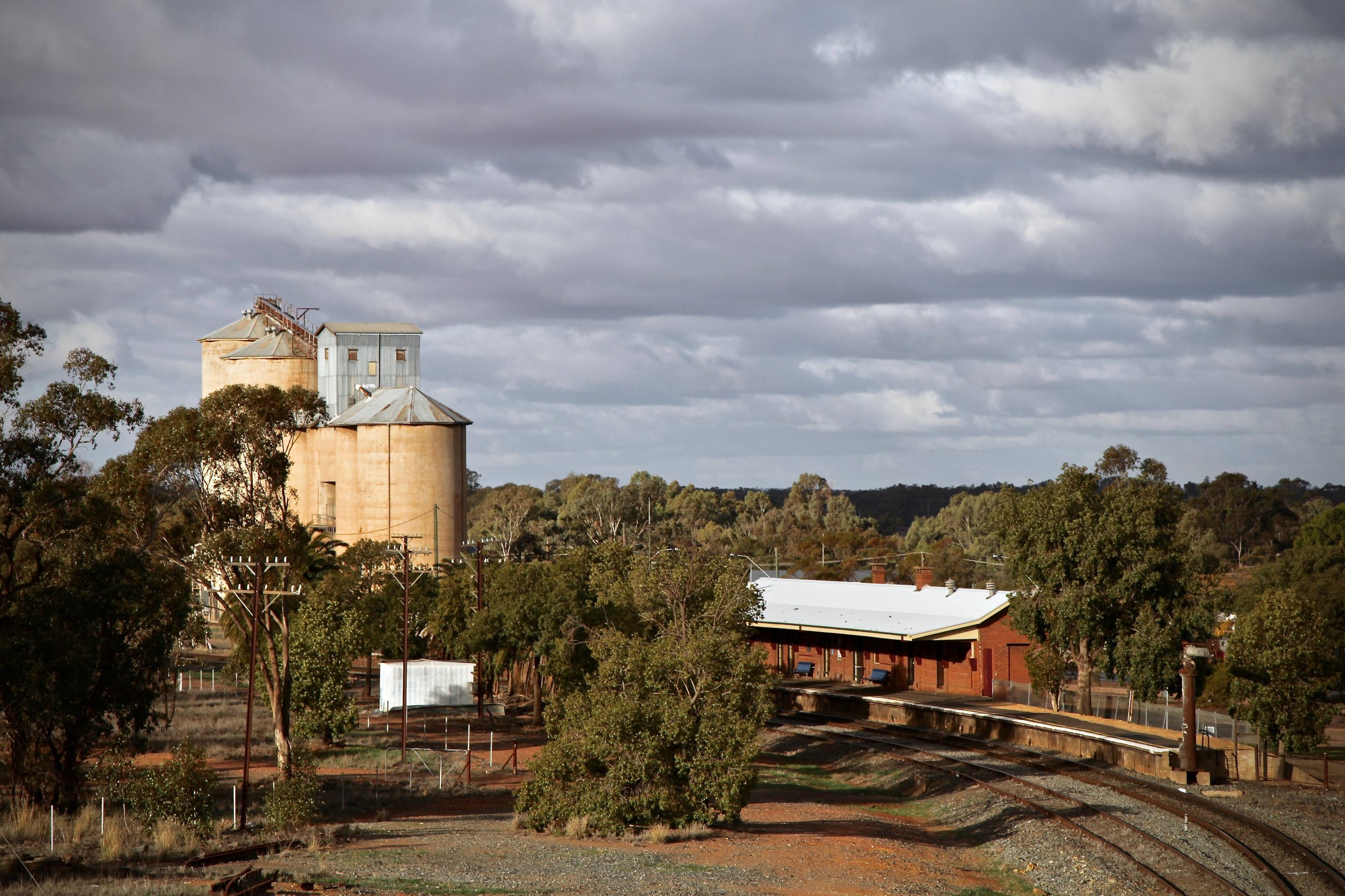 Condobolin is about 450km west of Sydney.