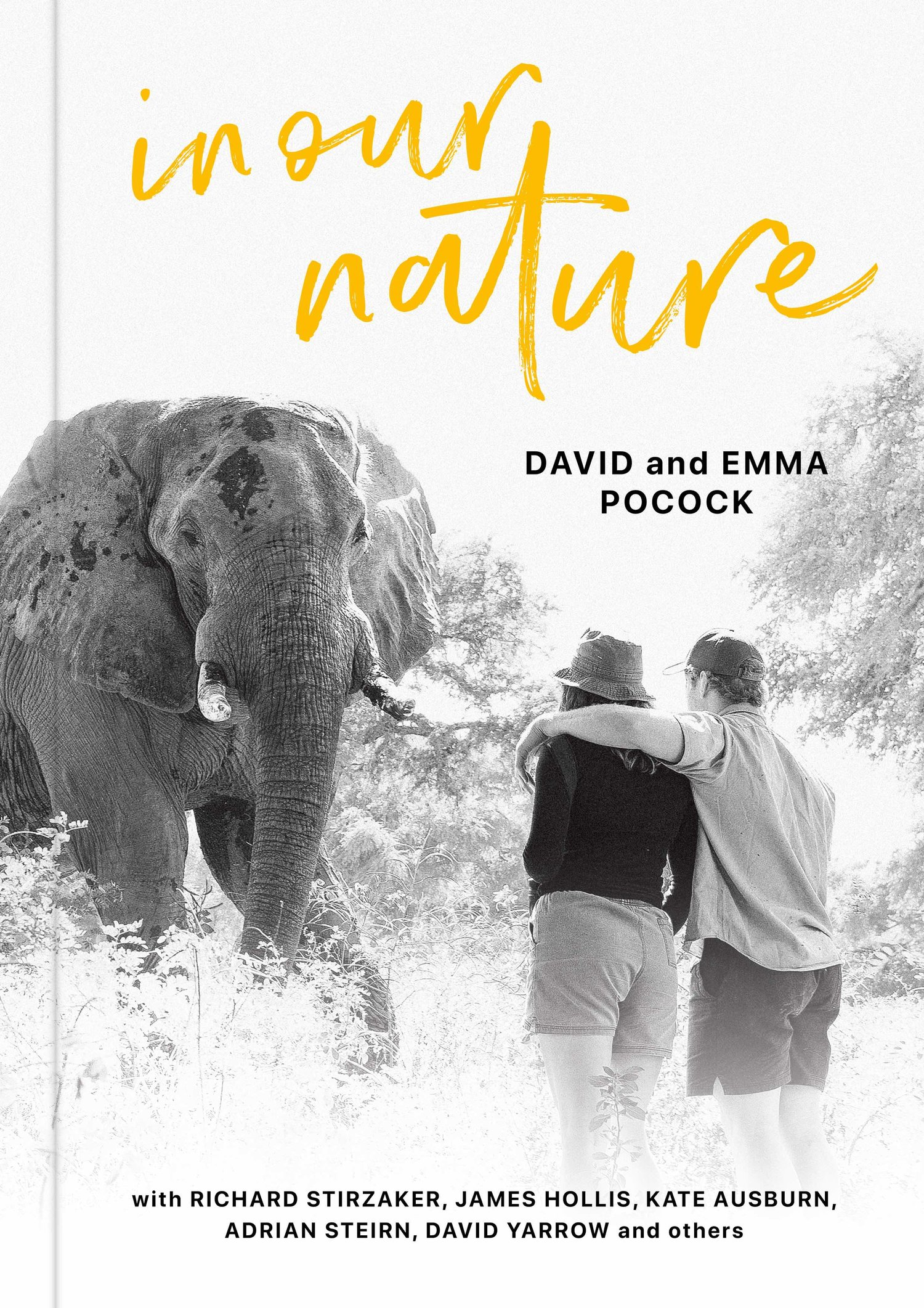 The Book - I'm excited to have contributed to In Our Nature — a collection of essays, photos and poetry featuring stories about people on the frontiers of conservation. PRE-ORDER NOW →