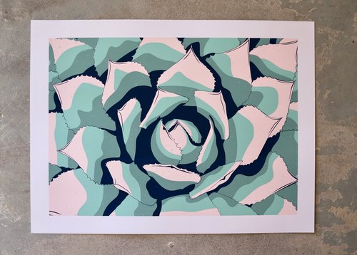 COPPERSTATE COLLECTION - AGAVE PRINT