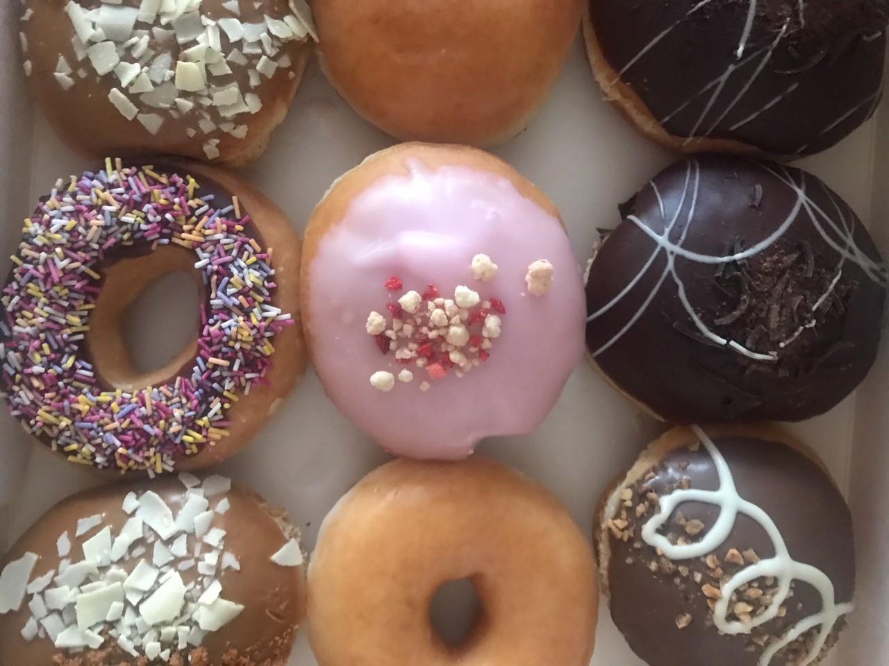 Doughnuts are always a good idea...