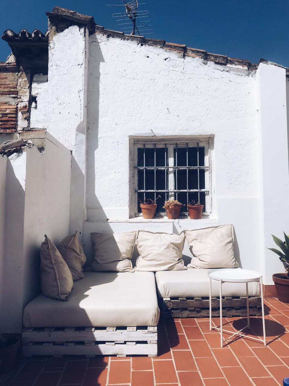 Dulces & Dreams Rooftop Garden, Malaga.