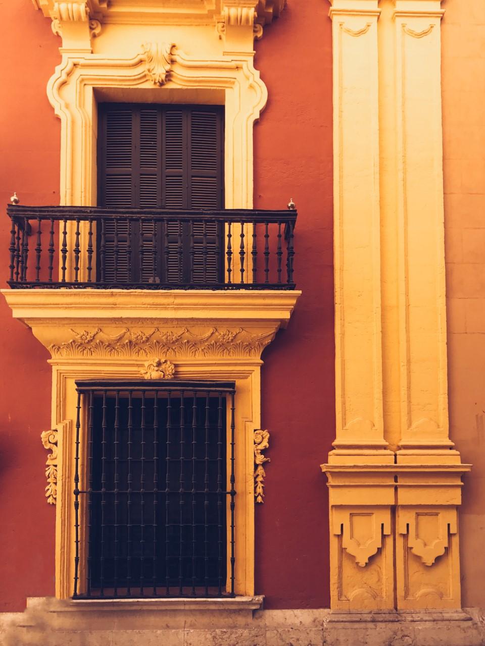 Spanish colours, Malaga.
