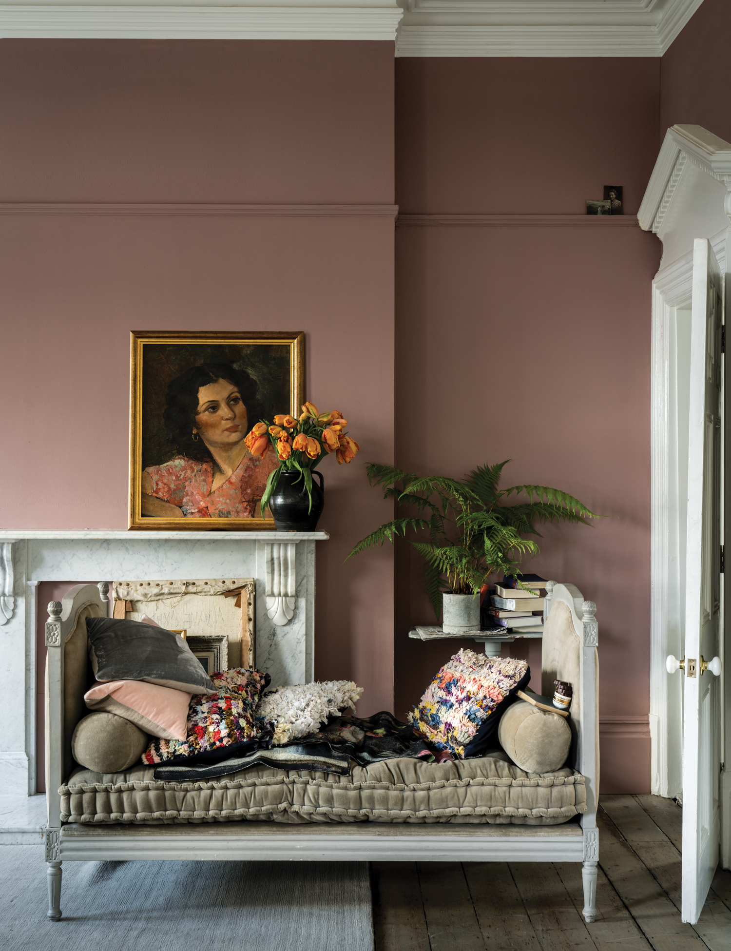 Sulking Room Pink via  Farrow & Ball