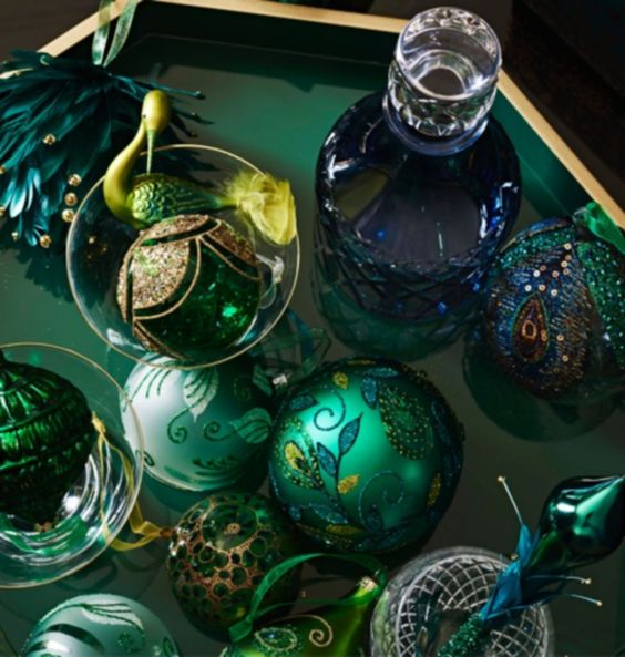 Emerald Christmas Collection by John Lewis