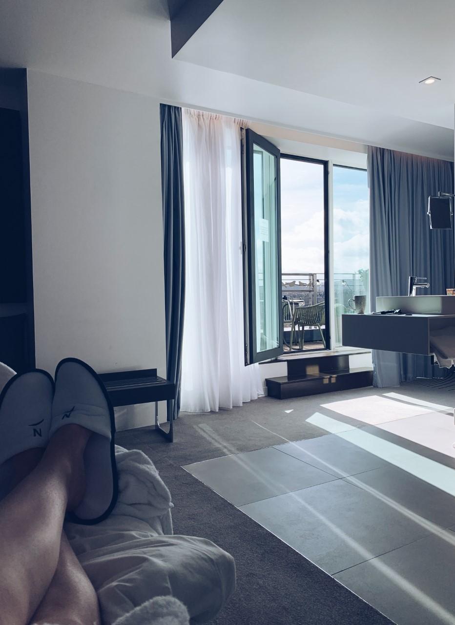Suite view, Novotel Hotel, Edinburgh