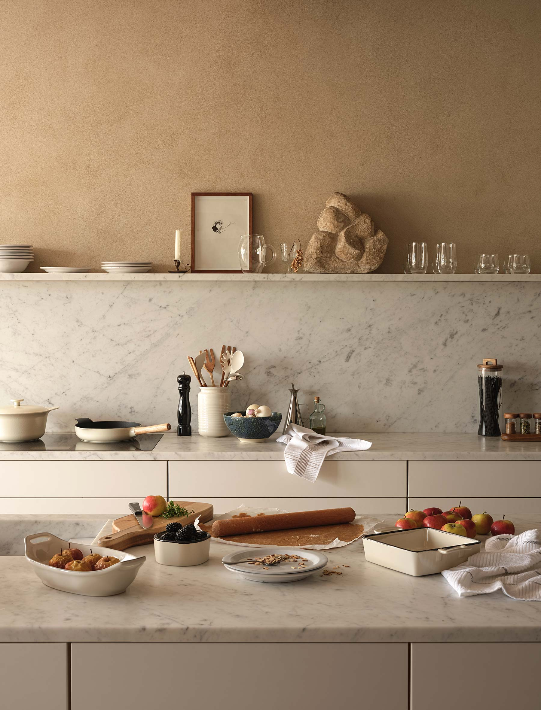 Zara Home Kitchen Editorial shot.