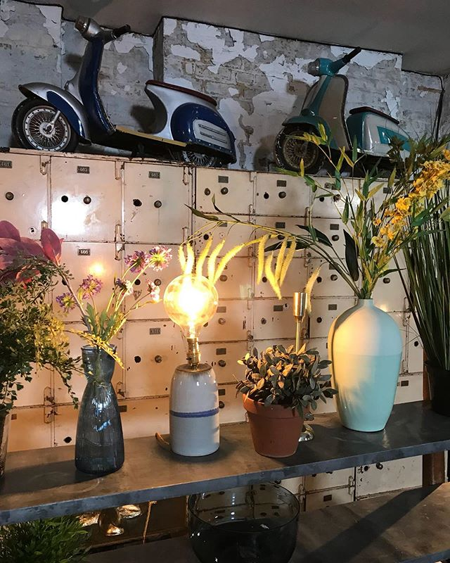 So nice to see my lamp on the set of #interiordesignmasterstv on the #bbc with @fearnecotton Absolutely loving the show #interiordesign #pottery #lamp @adriangonzalezpottery #handmade #globebulb #britishmade #design #interiors #stoneware #craft #shoplocal